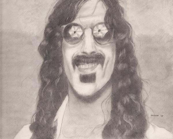 Frank Zappa by sketch1961